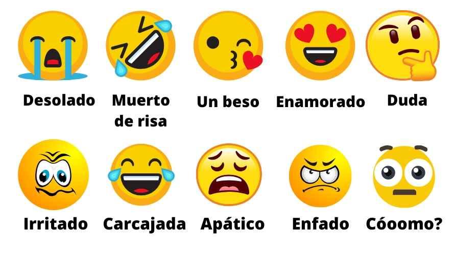 Significado de algunos emojis