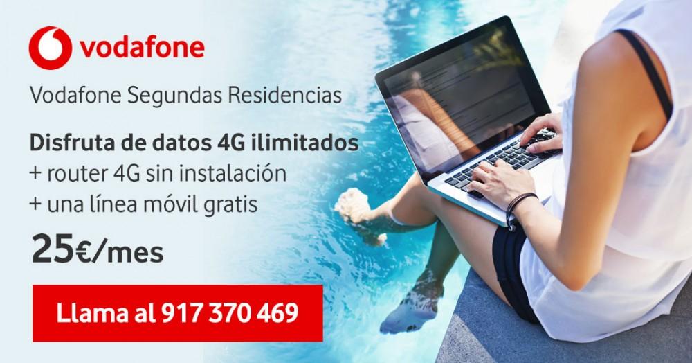 Vodafone segunda residencia