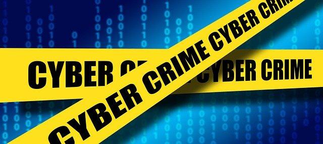 Cartel de ciberseguridad para la suplantación de identidad