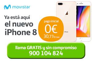 Descubre cómo conseguir tu iPhone 8 con Movistar