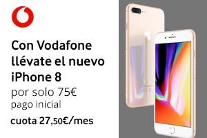 Descubre cómo conseguir el iPhone 8 con Vodafone