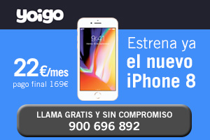 Infórmate en Yoigo como conseguir iPhone 8