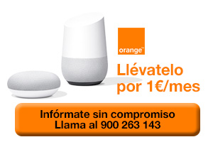 Consigue Google Home con Orange
