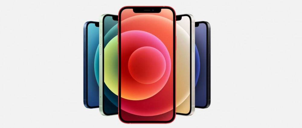 Los diferentes modelos del iPhone 12