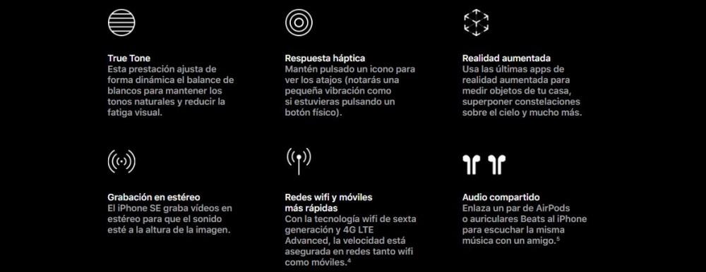 Características del nuevo iPhone SE 2020