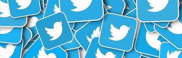 Logos de la red social Twitter