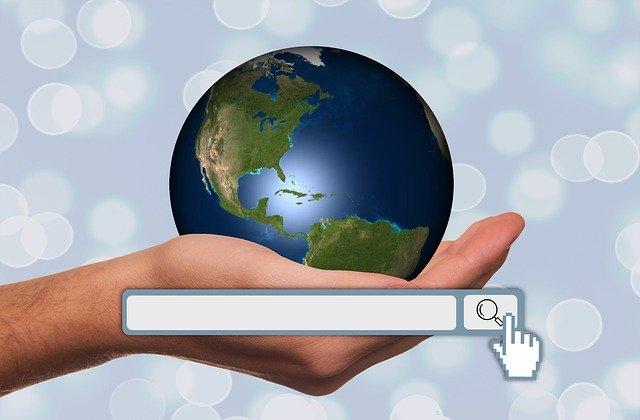 Barra de navegación de buscadores en internet