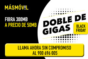 Ofertas ADSL MásMóvil Black Friday