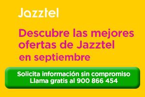 Las mejores ofertas de Jazztel para Septiembre