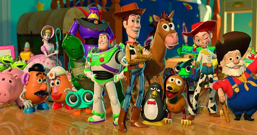 Protagonistas de la saga Toy Story