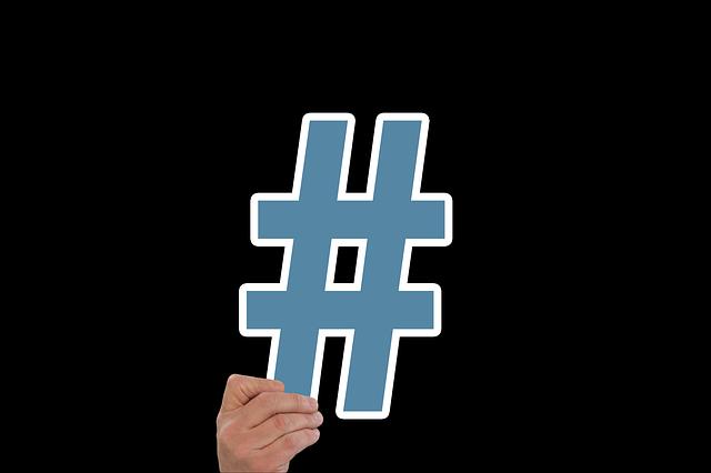 Un usuario de Twitter inventó los hashtags
